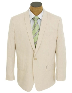 Sean John - Striped Seersucker Sport Coat Jacket