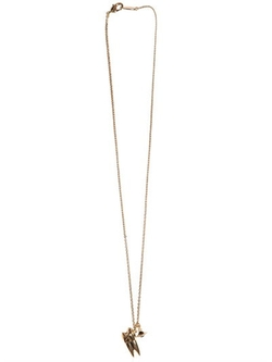 Vivienne Westwood   - Tooth & Orb Pendants On Chain Necklace