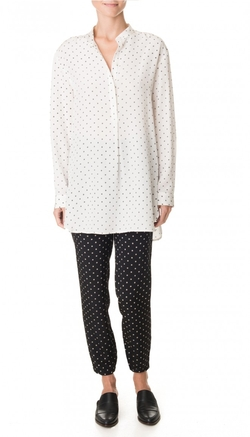 Tibi - Diffusion Polka Dot Easy Shirt