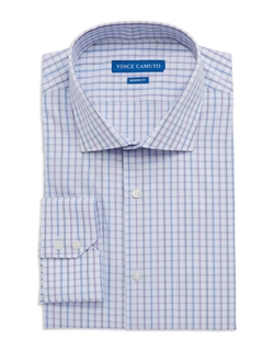 Vince Camuto - Modern Fit Check Dress Shirt