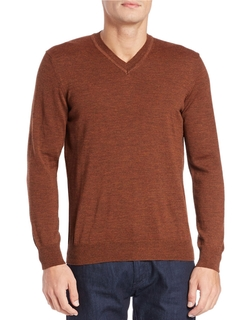 Black Brown 1826 - Merino Wool Knit Sweater