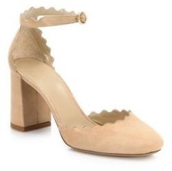 Chloé - Scalloped Suede D