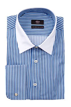 Alara  - Slim Multi Stripe Dress Shirt