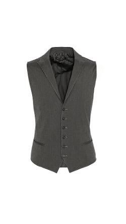John Varvatos Star USA  - 5B Peak Vest