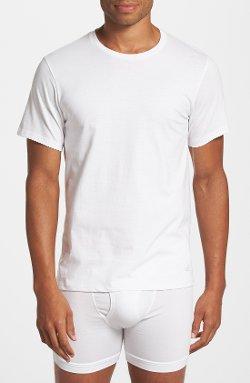 Calvin Klein  - Cotton Crewneck T-Shirt