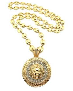 Bling Jewelz - Mens Illuminati Pendant Necklace
