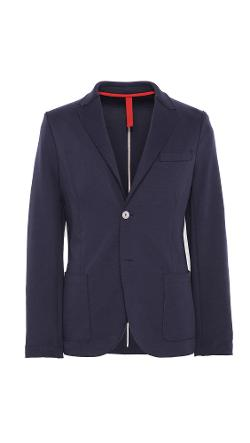 Harris Wharf  - 2 Button Blazer with Elbow Patch