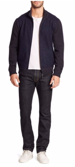 Saks Fifth Avenue Collection - Donegal Wool Bomber Jacket