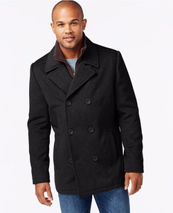 Kenneth Cole - Wool-Blend Peacoat