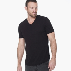 James Perse - Clear Jersey V-Neck T Shirt