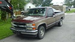 Chevrolet - 1997 C1500 Silverado Pickup Truck