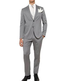 Tonello - Stretch Sateen Cotton Suit