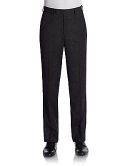 Ralph Lauren  - Flat-Front Wool Pants