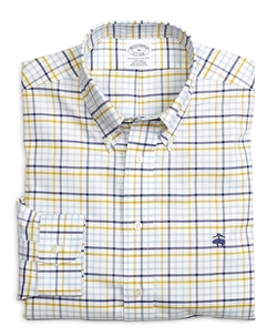 Brooks Brothers - Two-Toned Check Sport Shirt