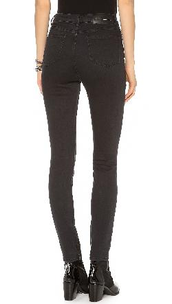 BLK DNM  - High Waisted Legging Jeans