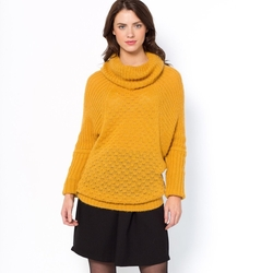La Redoute - Batwing Sleeves Cape Sweater