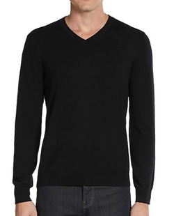 Saks Fifth Avenue - Cashmere V-Neck Sweater