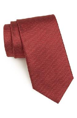 Yves Saint Laurent - Woven Silk Tie