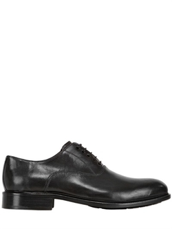 Brecos - Leather Brogue Oxford Lace Up Shoes