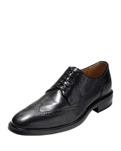 Cole Haan - Warren Wing-Tip Leather Oxford Shoes