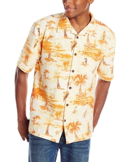 Margaritaville - Bama Breeze Short-Sleeve Silk Shirt