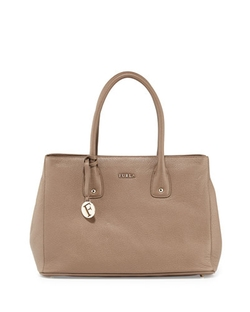 Furla - Serena Leather Tote Bag, Daino