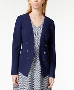 Maison Jules - Tailored Button-Detail Blazer