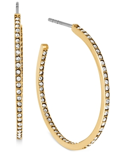 Michael Kors - Crystal Pavé Small Hoop Earrings