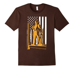 Amazing News - Flag Ironworkers T-Shirt