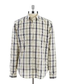 7 For All Mankind  - Plaid Sport Shirt
