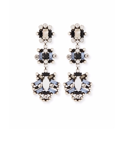 Dannijo  - Karlotta Crystal Statement Earrings
