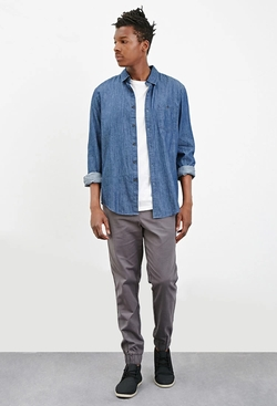 Forever21 - Classic Chambray Shirt