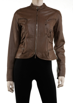 Leon Max - Soft Leather Moto Goddess Jacket