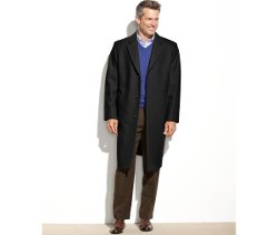 London Fog  - Wool-Blend Overcoat