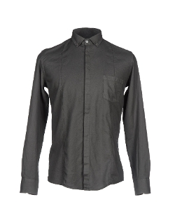 Grey Daniele Alessandrini  - Button Down Shirt