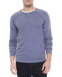 Vince  - Crewneck Heather Knit Sweater