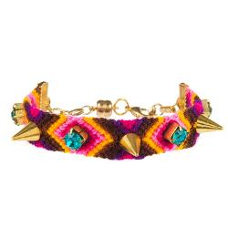 Gypsies + Debutantes  - Spike Friendship Bracelet
