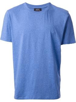 A.P.C.  - classic crew neck T-shirt
