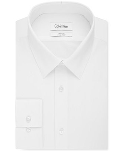 Calvin Klein - Infinite Stretch Solid Dress Shirt