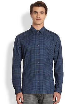HUGO  - Eller Check Shirt