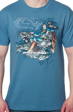 80s Tees - Super Mind Superman Shirt