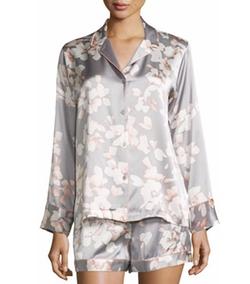 Natori - Azalea Printed Shorty Pajama Set