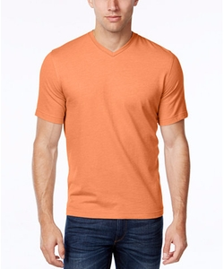 Tasso Elba - V-Neck Heathered T-Shirt