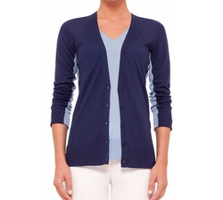Akris Punto - Button-Front Colorblock Cardigan