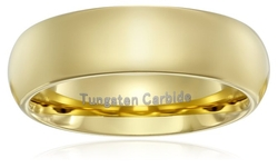 Metals Jewelry  - Tungsten Carbide Wedding Ring