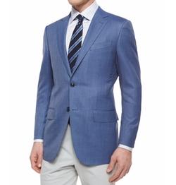 Ermenegildo Zegna - Micro-Check Wool Blazer