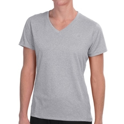 New Balance  - Heathered V-Neck T-Shirt