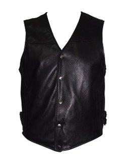 Paccilo - Soft Lambskin Leather Vest