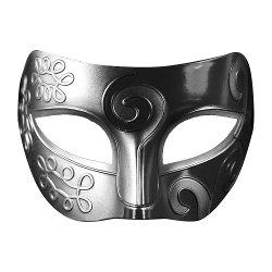 Coofit - Mens Adult Masquerade Greek Roman Facial Mask