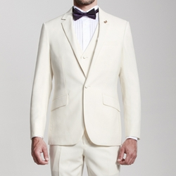 OwnOnly - Flat Collar Three-Piece Suit